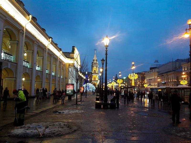 Nevsky Avenue