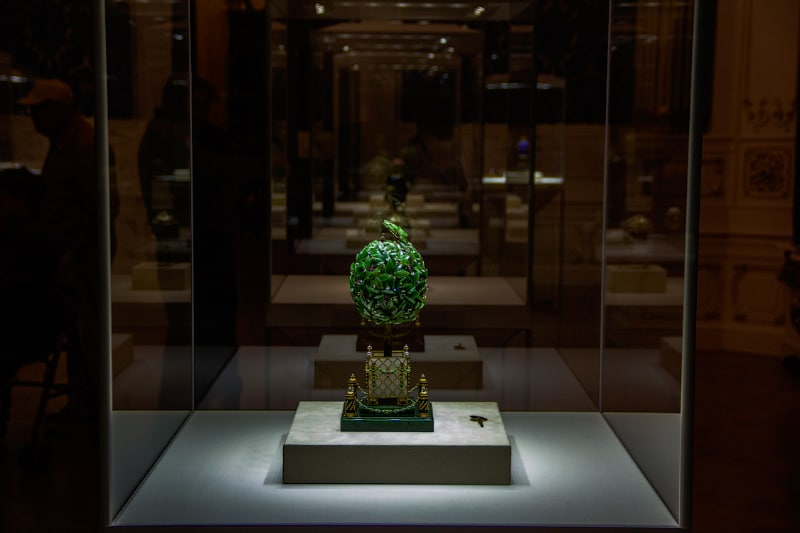 Faberge Egg Collection - Bay Tree Easter Egg