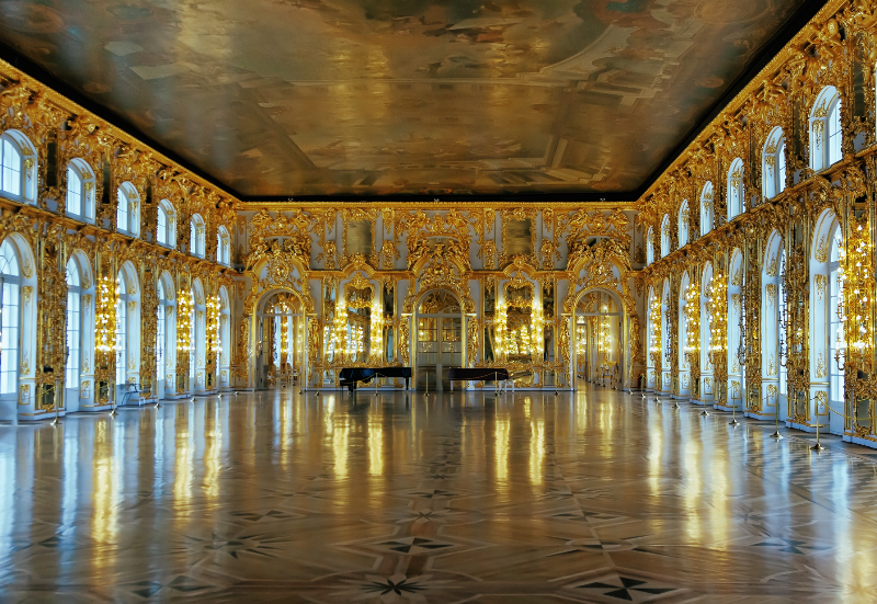 Catherine Palace great hall