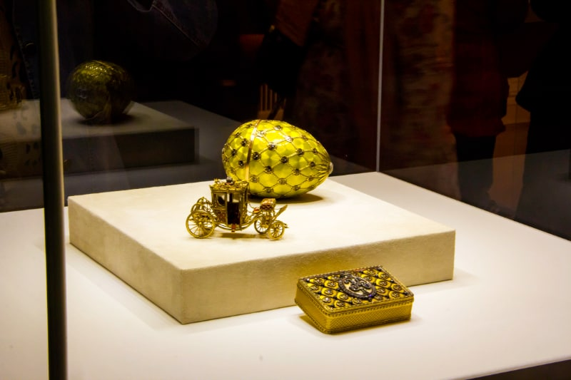 Faberge Egg Collection - Coronation Easter Egg