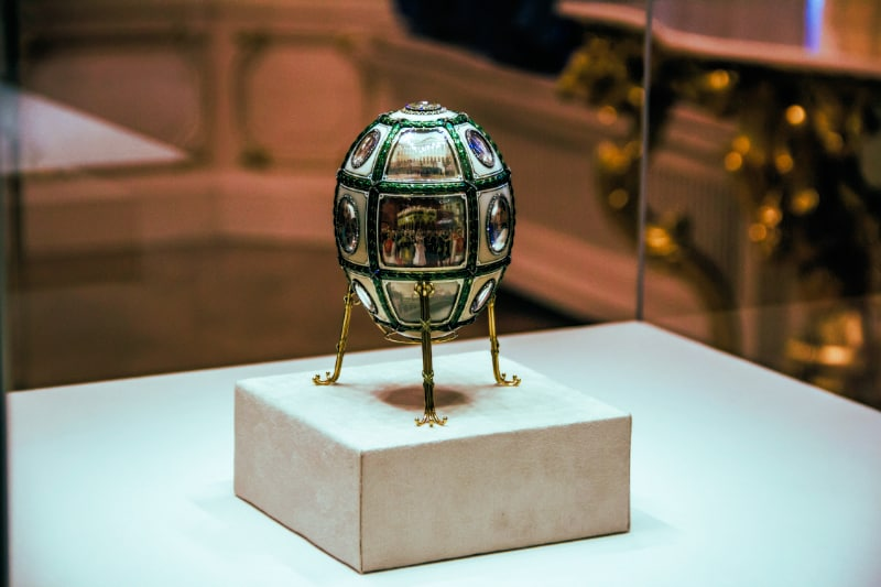 Faberge Egg Collection - Fifteenth Anniversary Easter Egg