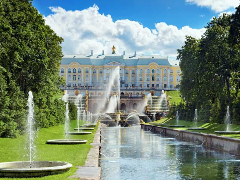 Grand cascade Peterhof