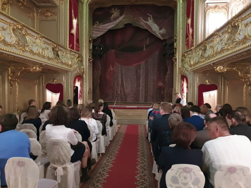 home theater of the Yusupov