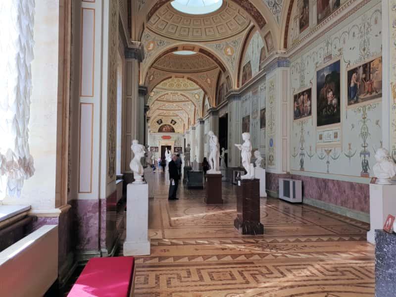 Italian Sculpture Gallery Hermitage