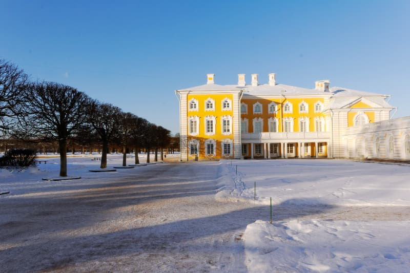 Peterhof winter