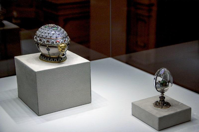 Renaissance Easter Egg and Resurrection Easter Egg