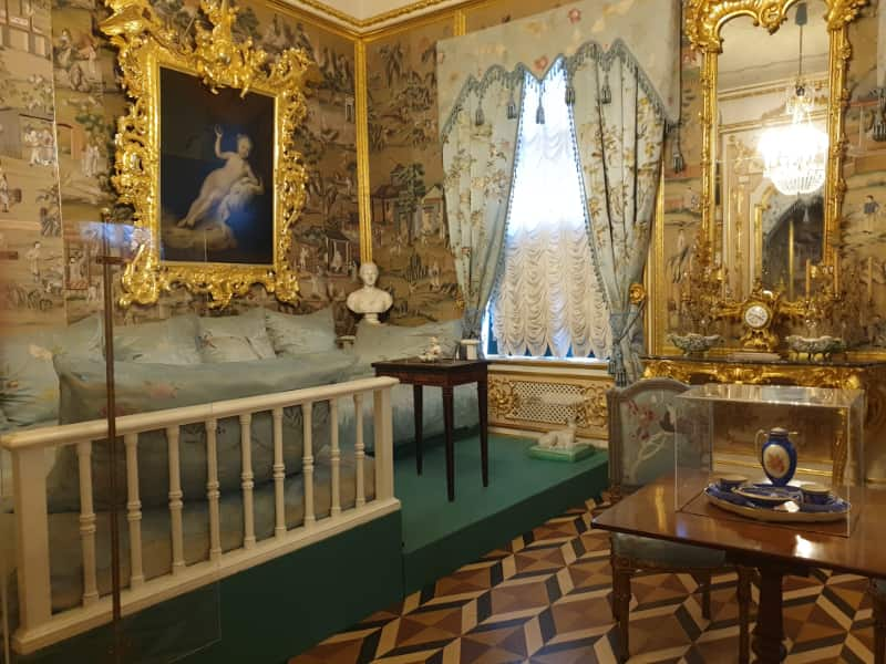 Turkish Sofa Room in Peterhof Palace