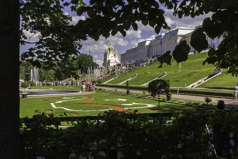 Peterhof-tour