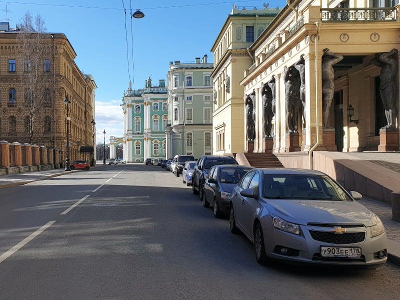 Millionnaya Street