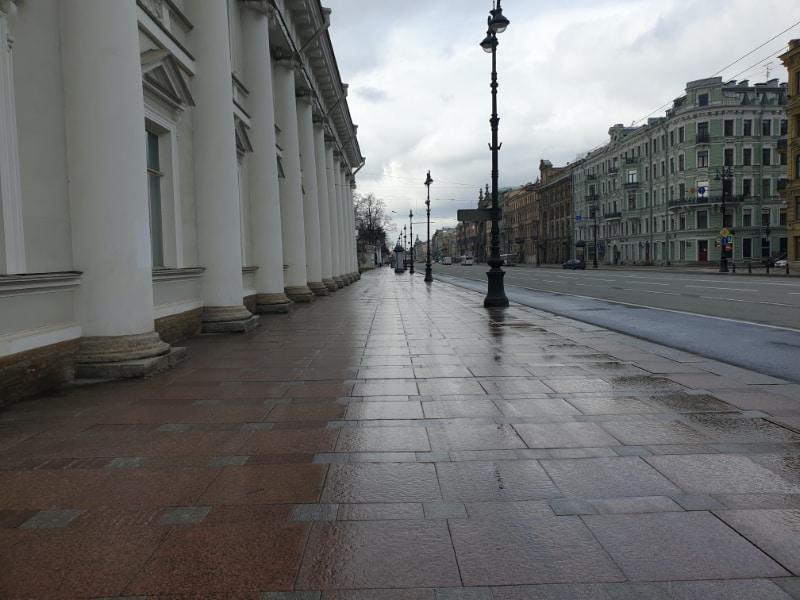 St Petersburg tour: Nevsky