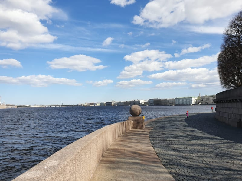 Neva River views