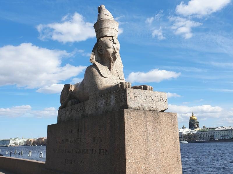 Luxor Sphinx in Russia