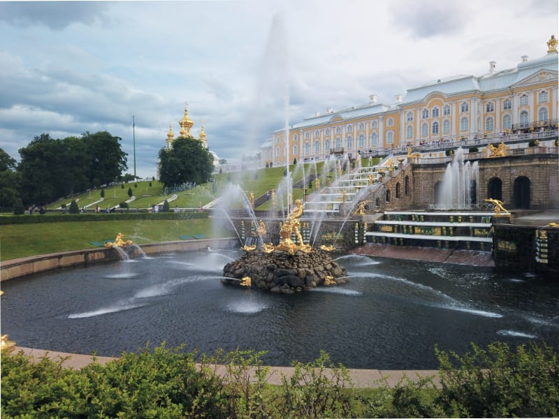 Peterhof During Corona Pandemic