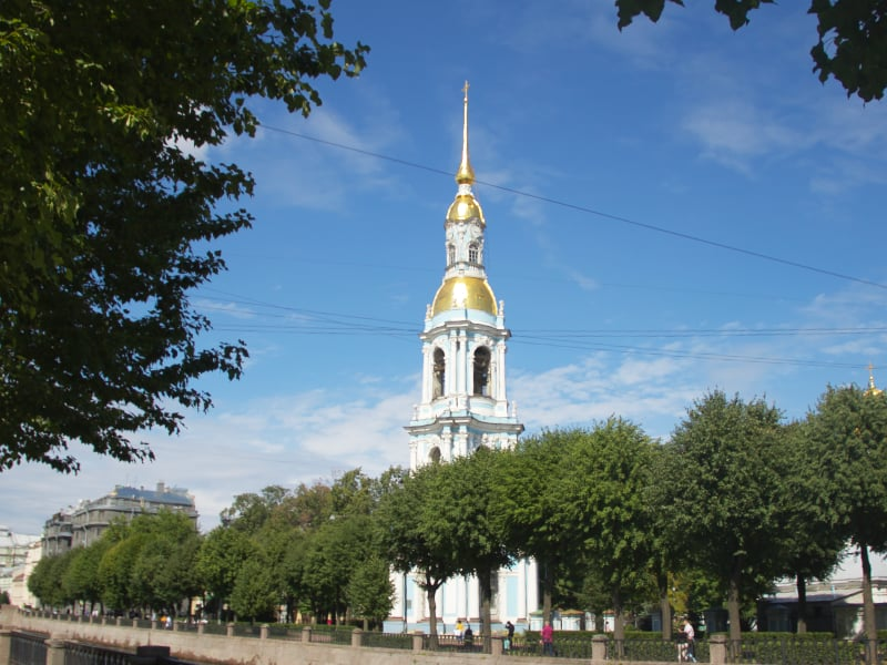 bell tower of St Nicholas Cathedral