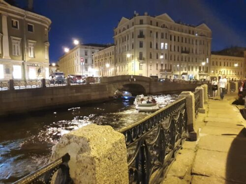 St Petersburg Night Boat Tour