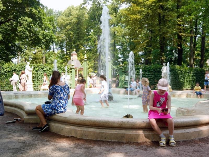fountains Summer Garden